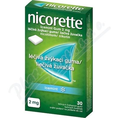 Nicorette Icemint Gum 2mg gum 30x2mg