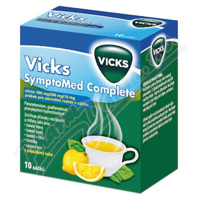 Vicks SymptoMed compl.citrón.por.plv.10