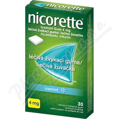 Nicorette Icemint Gum 4mg gum 30x4mg