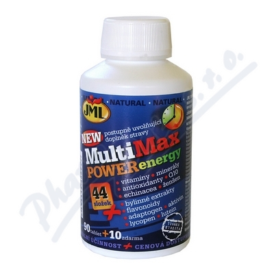 JML MultiMax Power Energy 100tblx44 vit.