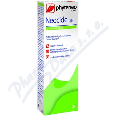 Phyteneo Neocide gel 0.1% Octenidi.50ml
