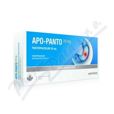 Apo-Panto 20mg por.tbl.ent.14x20mg