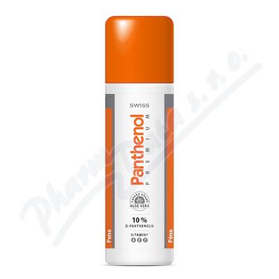 Panthenol 10% Swiss premium pěna125+25ml