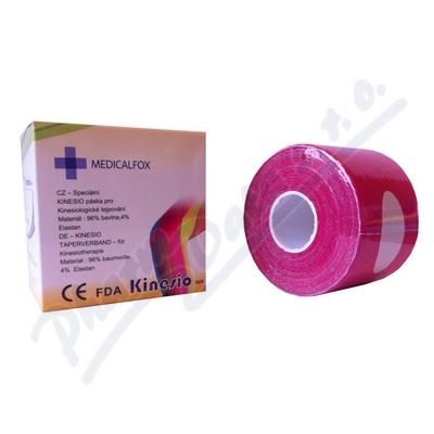 FOX MUSCLE TAPE-kinezio růžový 5cmx5m