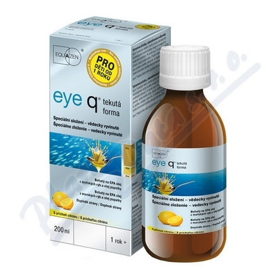 eye q tekutá forma 200ml citron