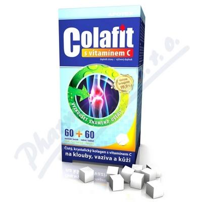 COLAFIT s Vitamínem C 60+60 kostek
