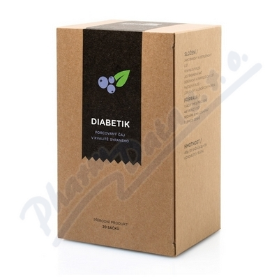 ARO Bylinný čaj Diabetik n.s.20x2g