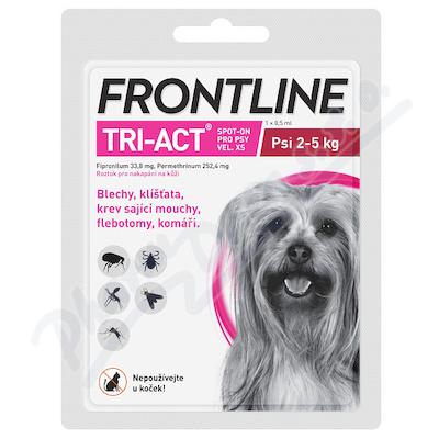 Frontline Tri-Act psi 2-5kg XS spot.1x1