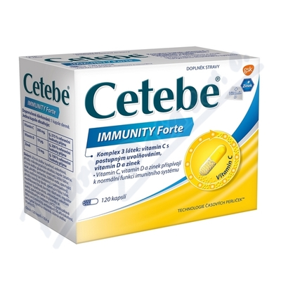 Cetebe Immunity Forte cps. 120