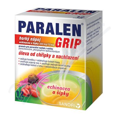 Paralen Grip hor.náp.echin+šip.gra.12