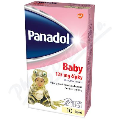 Panadol Baby cipky 125mg rct.sup.10x125m