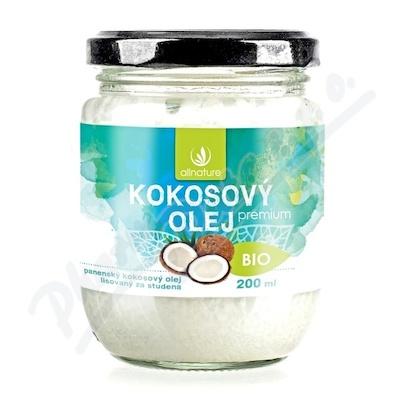 Allnature Kokosový olej panenský BIO 200