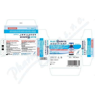 Blue Marker Aguettant 10mg/ml FLA 1ml B1