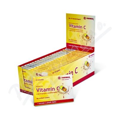 Vitamin C post.uvol.BOX 20x10 FARMAX