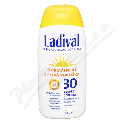 LADIVAL OF30 lot.norm.až citl.kůže 200ml