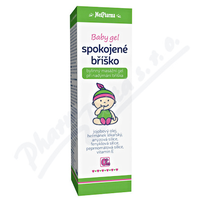 MedPh Baby gel spokoj.břiško 100ml