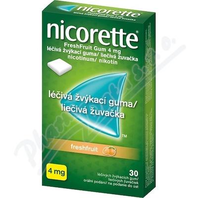Nicorette Freshfruit gum 30x4 mg