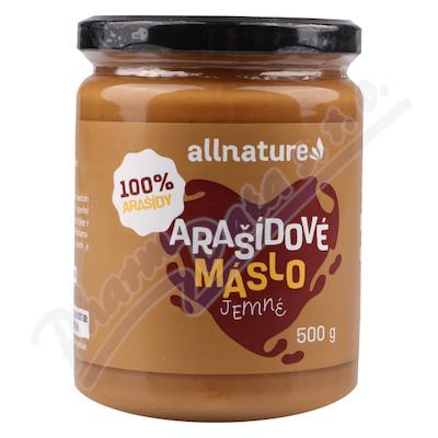 Allnature Arašídové máslo jemné 500 g