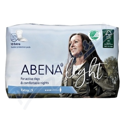 Abena ink.vložka light extra 3.10ks