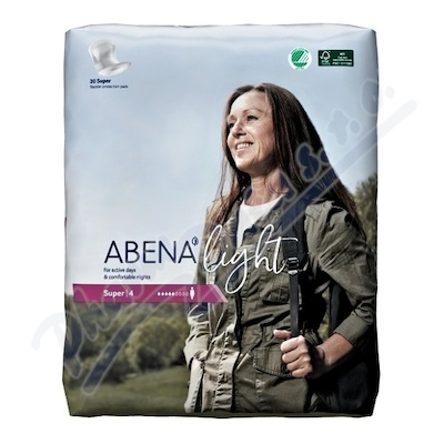 Abena ink.vložka light super 4.30ks