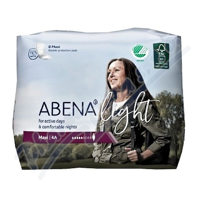 Abena ink.vložka light maxi 4A 8ks
