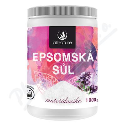 Allnature Epsomská sůl Mateřídouška 1000