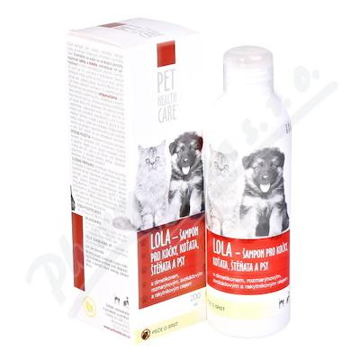 PHC LOLA antipar.šampon pro kočky 200ml