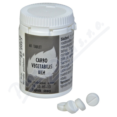 AKH Carbo vegetabilis por.tbl.60