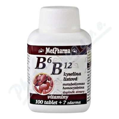 MedPh B6+B12+kysel.listová 107tbl.