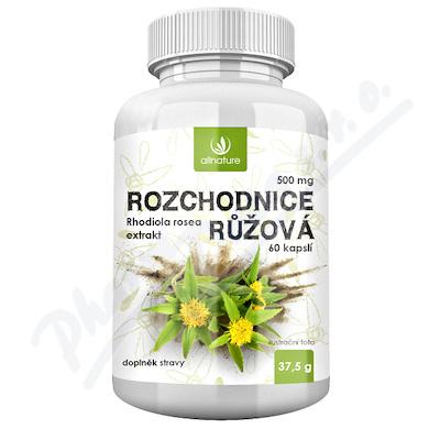 Allnature Rozch.Rhodiola Rosea500mg60cps