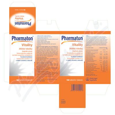 Pharmaton Vitality tob.100