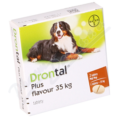 Drontal Plus flavour tbl.2  35 kg a.u.v.