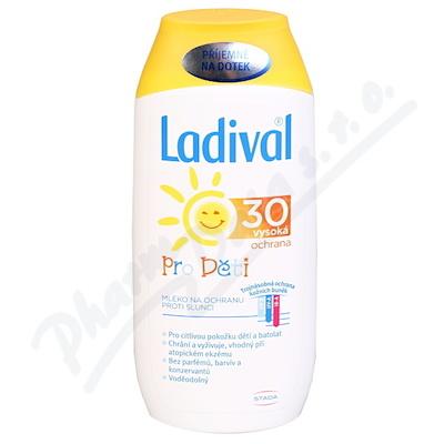 LADIVAL Děti LSF 30 mléko 200ml