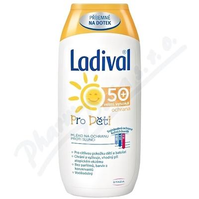 LADIVAL Děti LSF 50+ mléko 200ml
