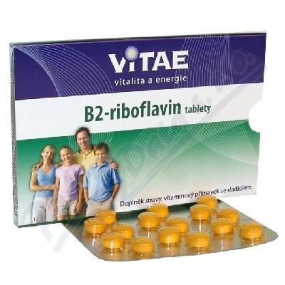 Vitae vit.B2 - Riboflavin tbl.30