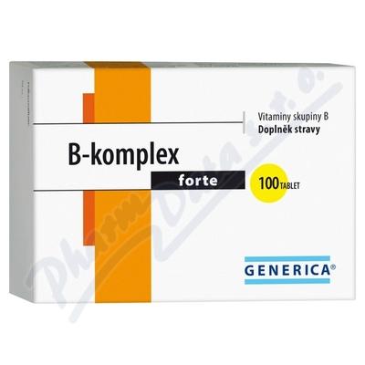 B-komplex forte Generica tbl.100