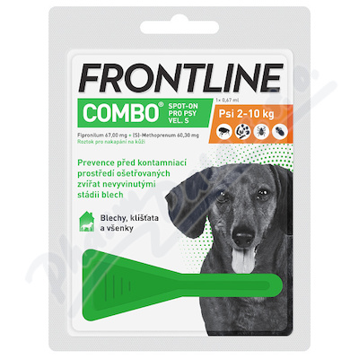 Frontline Combo Spot Dog S(2-10kg)0,67ml