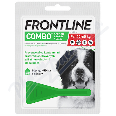 Frontline Combo Spot Dog XL(nad40kg)4,02