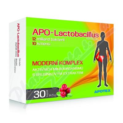 Apo-Lactobacillus10+ cps.30