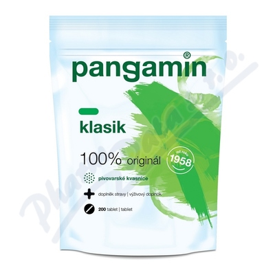 Pangamin 200tbl.zelený sáček
